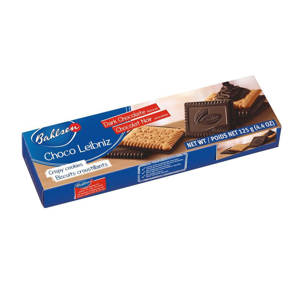 Bahlsen Dark Choco Leibniz, 4.4 Oz (Pack of 12)