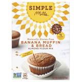 Simple Mills Banana Muffin Mix, 9.0 OZ (Pack of 6)