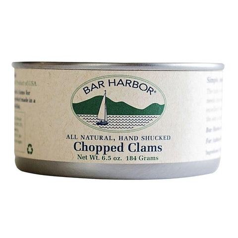 Bar Harbor Chopped Clam, 6.5 OZ (Pack of 12)