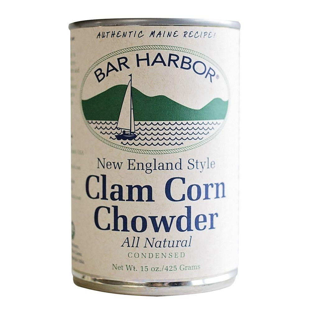 Bar Harbor Corn Clam Chowder Soup, 15 OZ (Pack of 6)