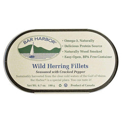 Bar Harbor Herring w/Cracked Pepper, 6.7 OZ (Pack of 12)