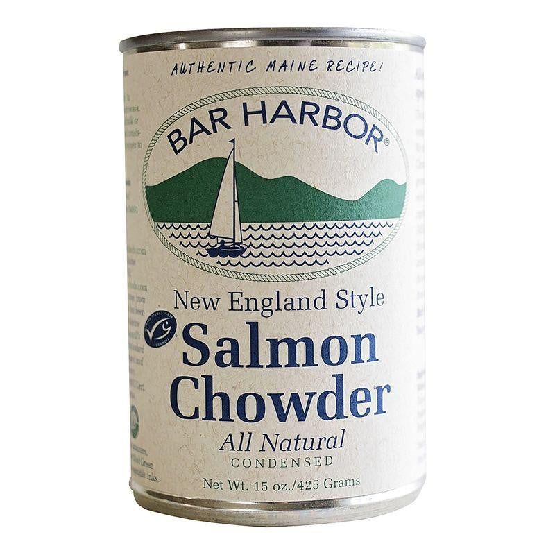 Bar Harbor New England Salmon Chowder (Pack of 6)