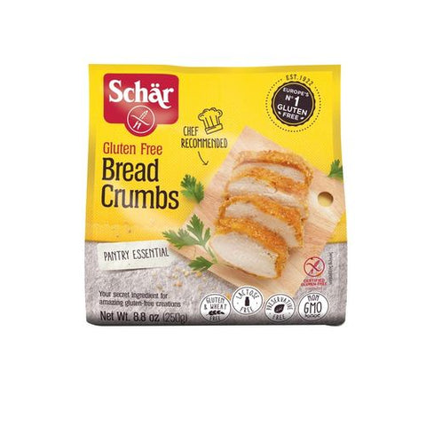 Schar Bread Crumbs, 8.8 Oz (Pack of 12)