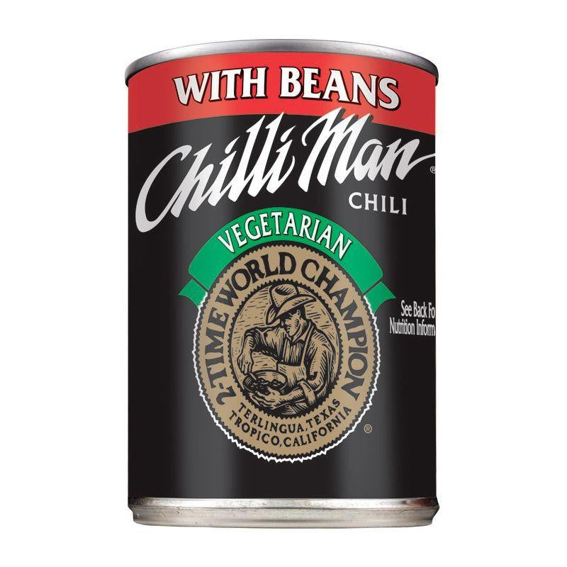Chilli Man Vegetarian with Beans Chili, 15 OZ (Pack of 12)