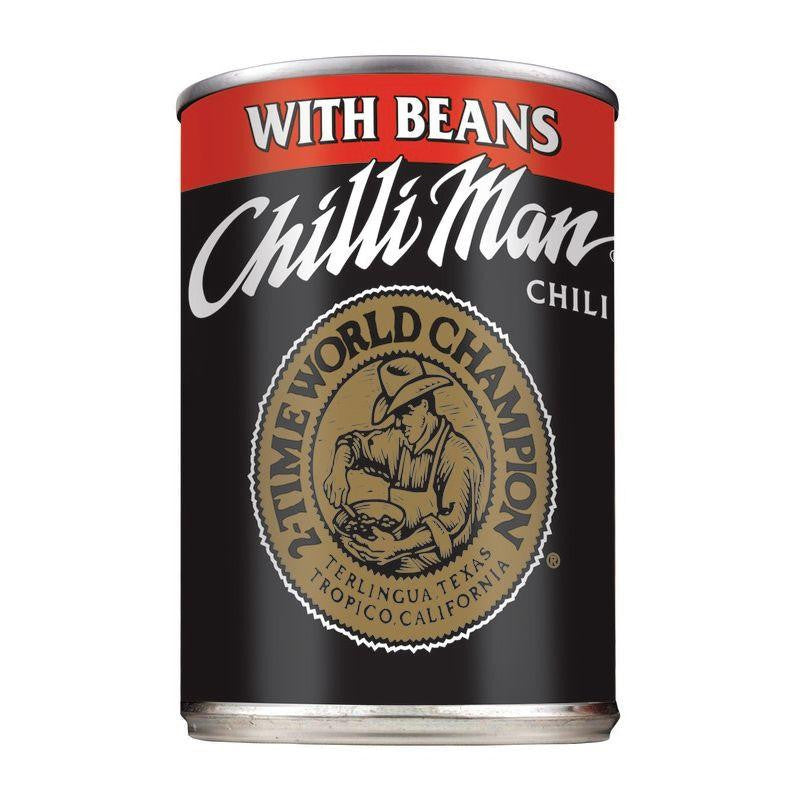 Chilli Man Chili with Beans, 15 OZ (Pack of 12)