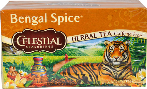 Celestial Seasonings Herbal Tea Caffeine Free Bengal Spice, 20 BG (Pack of 6)