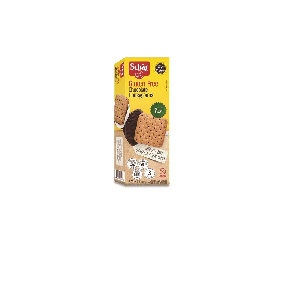Schar Chocolate Honeygrams , 6.70 oz (Pack of 6)