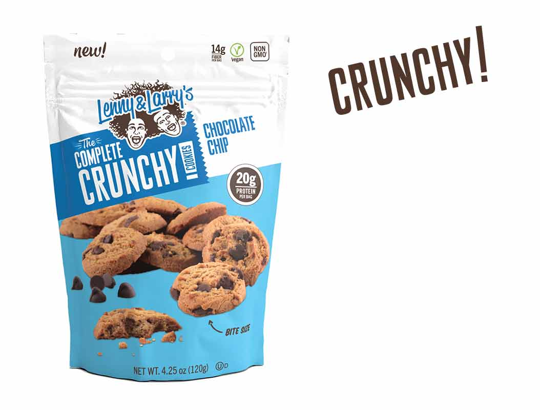 Lenny & Larrys Chocolate Chip Crunchy Cookie , 4.25 OZ (Pack of 12)