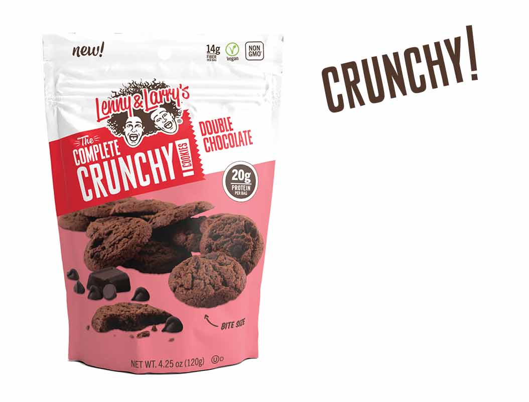 Lenny & Larrys Double Chocolate Chip Crunchy Cookie , 4.25 OZ (Pack of 12)