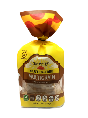 EnerG Gluten Free Multigrain with Brown Rice Loaf Bread, 16 Oz (Pack of 6)