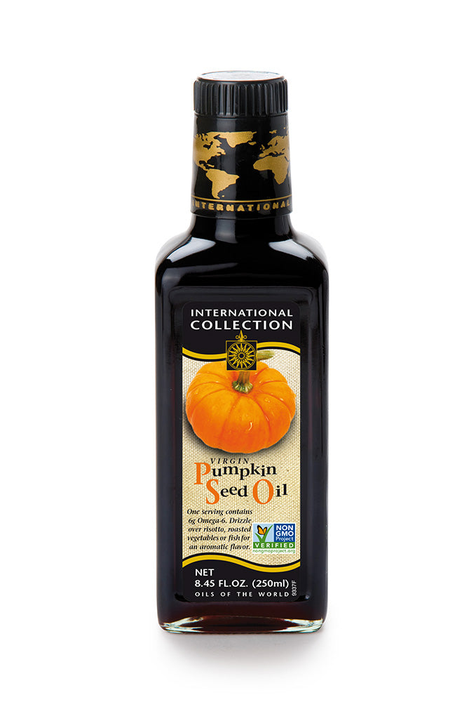 International Collection Virgin Pumpkin Seed Oil, 8.45 OZ (Pack of 6)