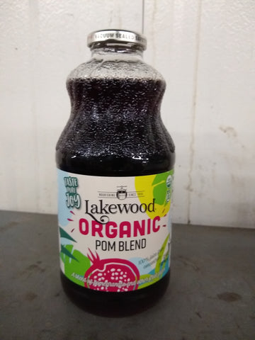 Lakewood Pomegranate 100% Juice, 32 Fo (Pack of 6)