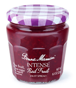 Bonne Maman Intense Red Fruit Spread, 8.20 Oz (Pack of 6)