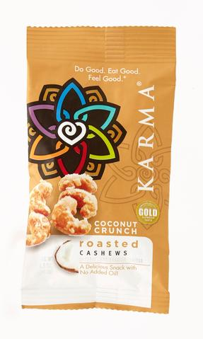 Karma Nuts Coconut Crunch Snack, 1.5 OZ (Pack of 24)
