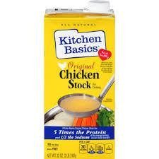 Kitchen Basics Original Chicken Cooking Stock 32 fl. Oz Carton (Pack of 12)