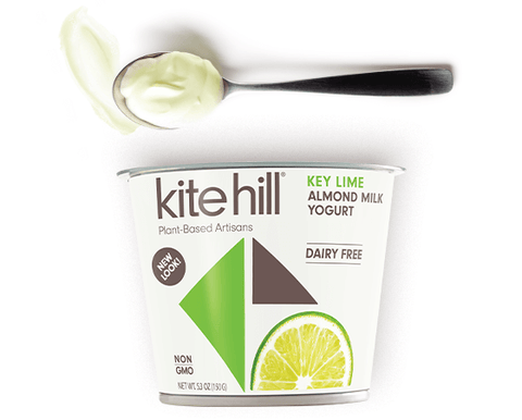 Kite Hill Key Lime Yogurt,  5.30 Oz (Pack of 12)