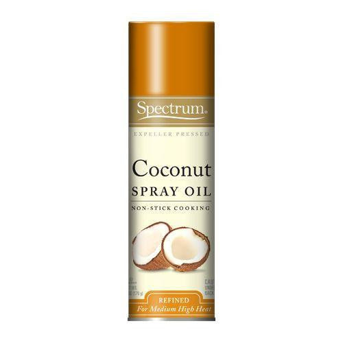 Spectrum Naturals Organic Coconut Spray Oil, 6 Oz (Pack of 6)