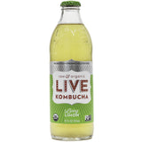 Live Beverage Living Limon Kombucha, 12 Oz (Pack of 8)