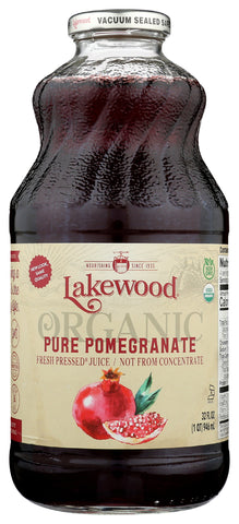 Lakewood Pure Pomegranate 100% Juice, 32 Fo (Pack of 6)