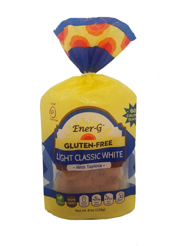 EnerG Light Tapioca Loaf Bread, 8 Oz (Pack of 6)