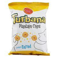 Turbana Lightly Salted Plantain Chip, 7 OZ (Pack of 12)