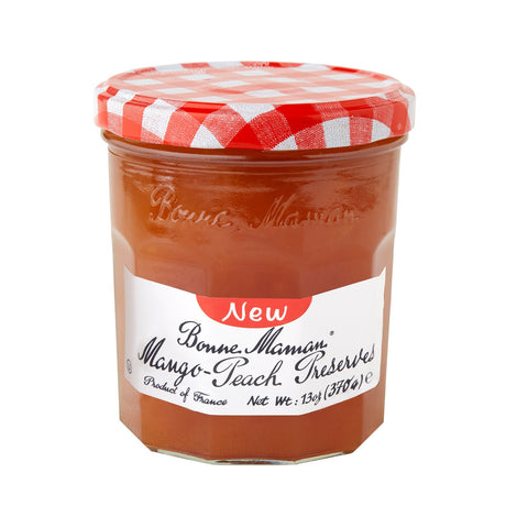 Bonne Maman Mango Peach Preserves, 13 Oz (Pack of 6)