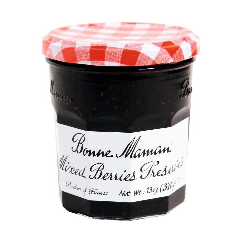 Bonne Maman Mixed Berries Preserves, 13 Oz (Pack of 6)