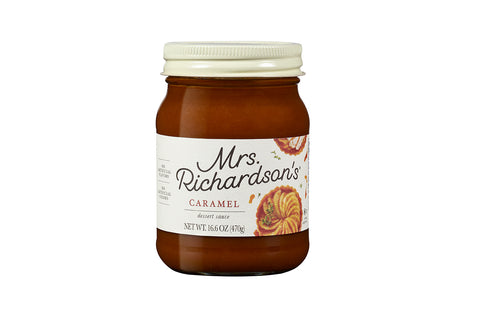 Mrs. Richardson's Caramel Topping, 17 OZ (Pack of 6)