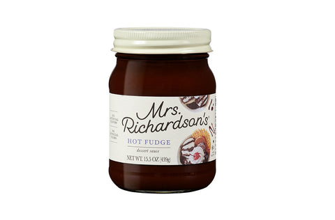 Mrs. Richardson's Hot Fudge Topping, 16 OZ (Pack of 6)