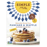 Simple Mills Pancake & Waffle Mix, 10.70 OZ (Pack of 6)