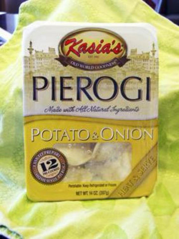Kasias Potato & Onion Pierogies, 14 Oz (Pack of 6)