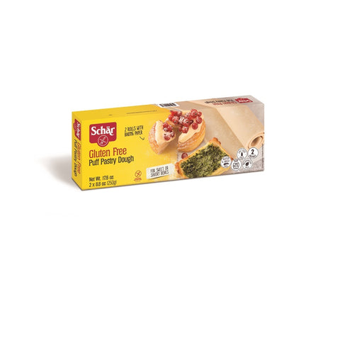 Schar Gluten Free Puff Pastry Dough, 17.64 oz (Pack of 6)
