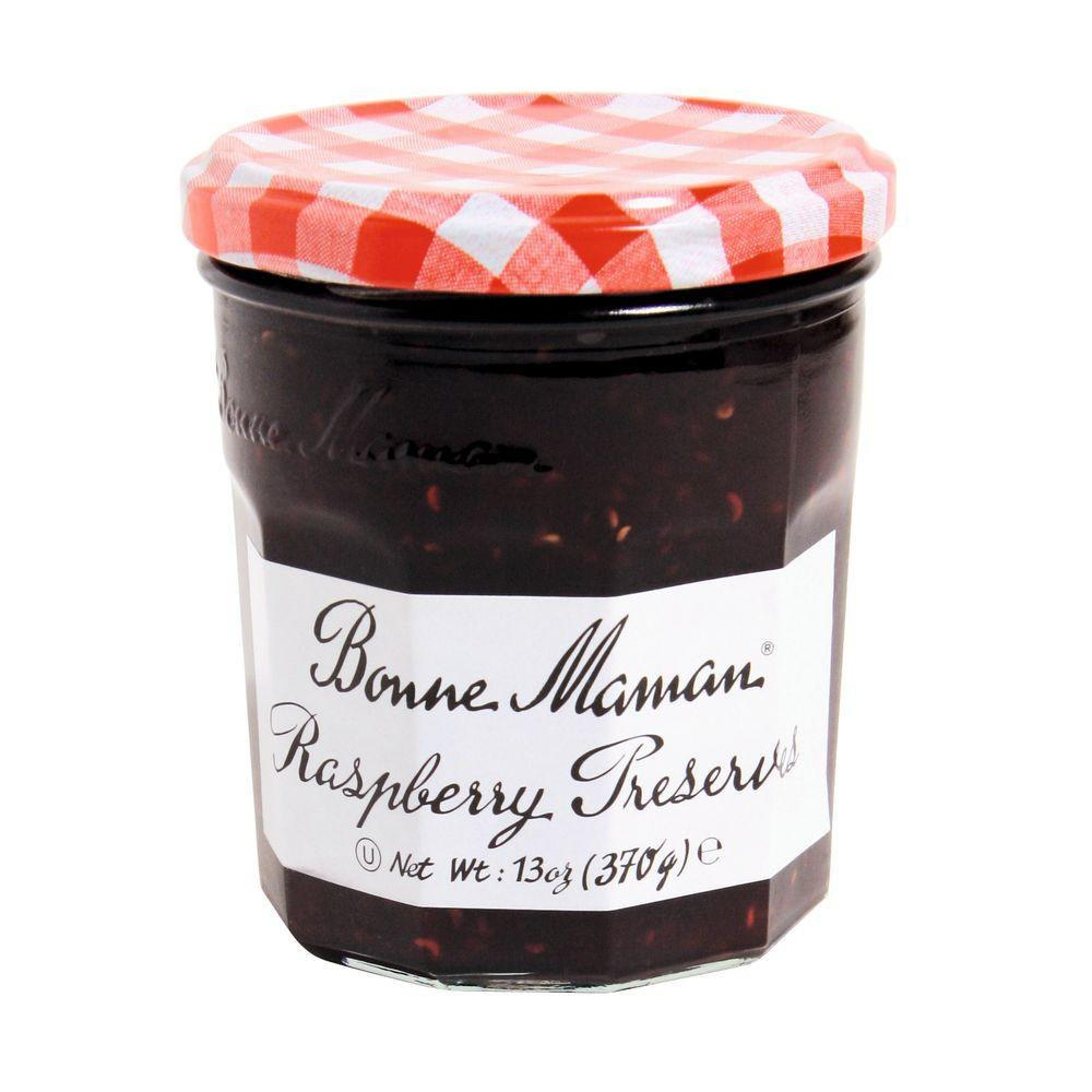 Bonne Maman Raspberry Preserves, 13 Oz (Pack of 6)