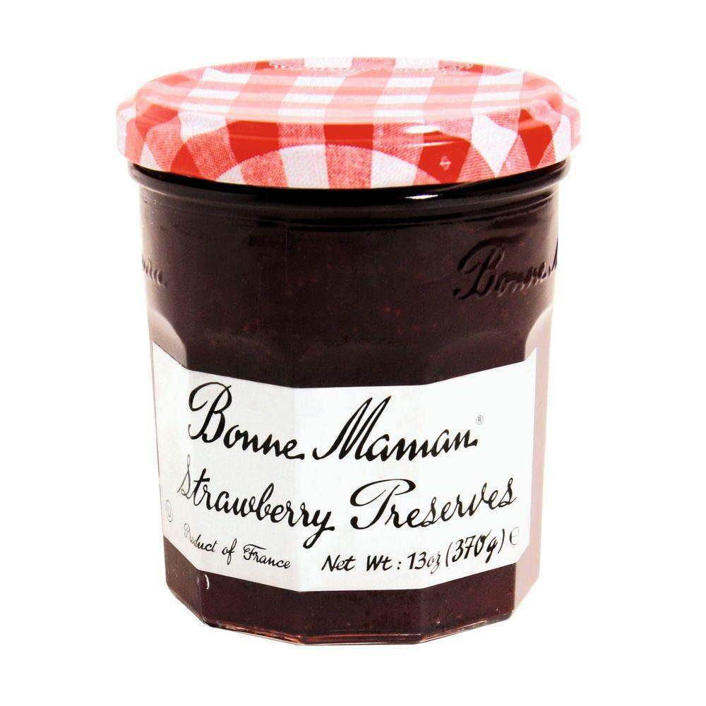 Bonne Maman Strawberry Preserves, 13 Oz (Pack of 6)