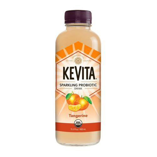 Kevita Tangerine Sparkling Probiotic Drink, 15.2 Oz (Pack of 6)