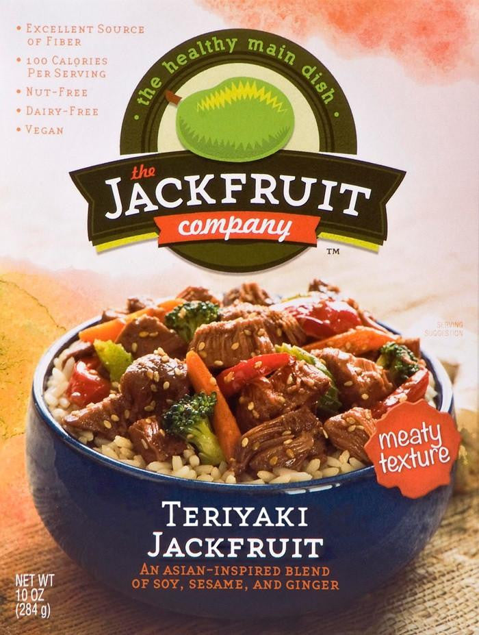 the JACKFRUIT Company Teriyaki, 10 oz (Pack of 6)