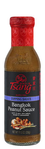 House of Tsang BANGKOK PADANG Peanut Sauce, 11.5 OZ (Pack of 6)