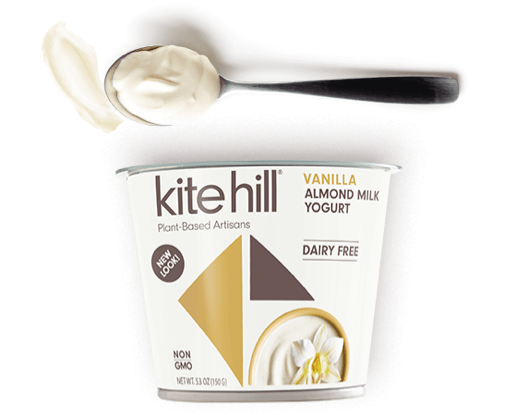Kite Hill Vanilla Yogurt,  5.30 Oz (Pack of 12)