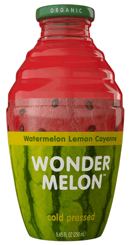 Wonder Melon, Watermelon Juice with Lemon & Chyenne, 8.45 OZ (Pack of 6)