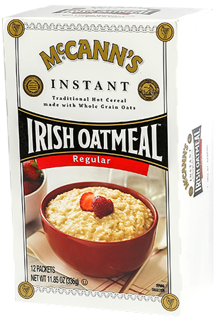 McCann's Instant Irish Oatmeal Regular, 11.8 OZ (Pack of 12)