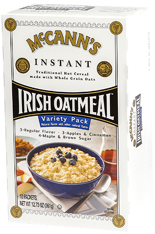McCann's Instant Irish Oatmeal Variety Pack, 12.73 OZ (Pack of 12)