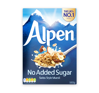 Alpen Cereal No Sugar No Salt, 14 OZ (Pack of 12)