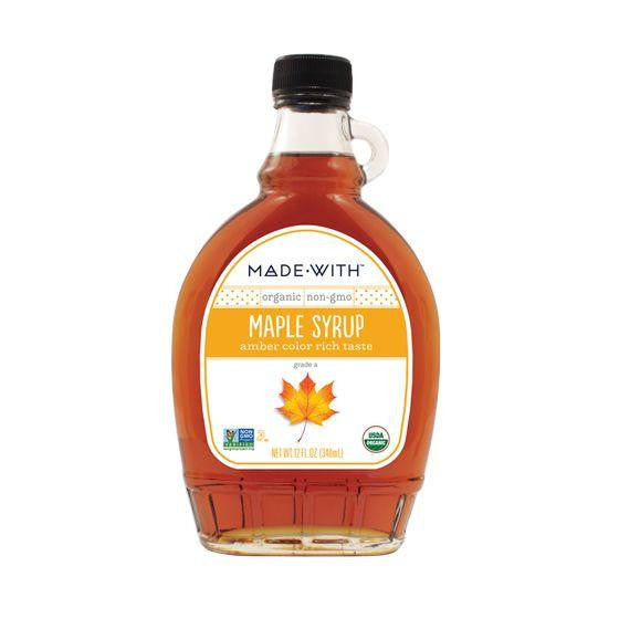 Made With Amber Maple Syrup, 12 Oz (Pack of 12)