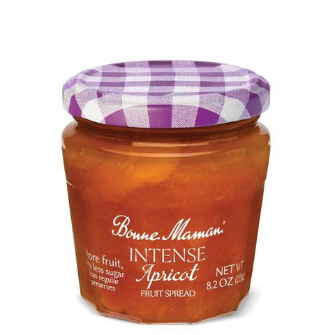 Bonne Maman Intense Apricot Fruit Spread, 8.20 Oz (Pack of 6)