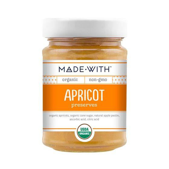Made With Apricot Preserves, 11 Oz (Pack of 6)