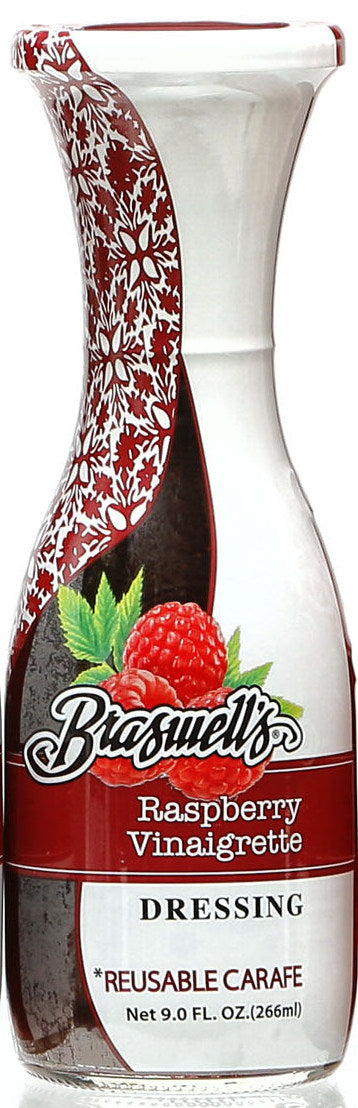 Braswell All Natural Raspberry Carafe Dressing, 9 OZ (Pack of 6)