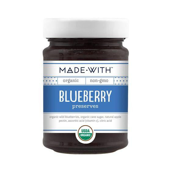 Made With Blueberry Preserves, 11 Oz (Pack of 6)