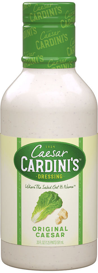 Cardini Dressing Caesar, 20 OZ (Pack of 6)