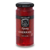 Sable & Rosenfeld Whiskey Tipsy Cherries, 10 OZ (Pack of 6)