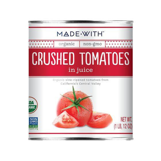 Made With Crushed Tomatoes, 28 Oz (Pack of 12)
